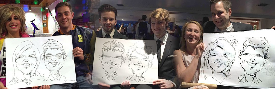 A Couples Caricaturist for your Event