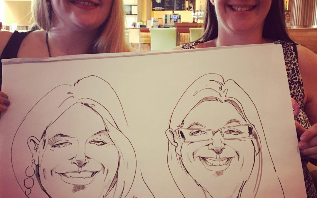 Book a Party Caricaturist