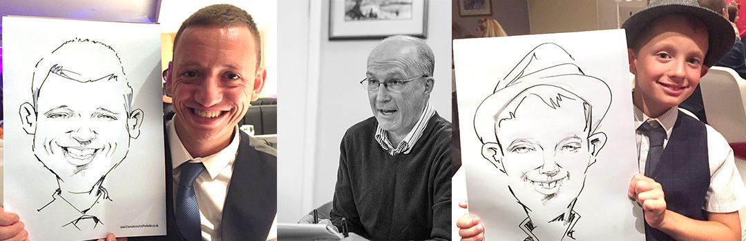 Charity Event Caricaturist in Tunbridge Wells